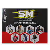 SM Acc 29 Cricket Score Book Set of 3