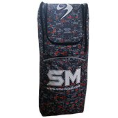 SM Duffle Play On Series Cricket Kit Bag Gray and Orange