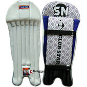 SM Club Star Cricket Wicket Keeping Leg Guard