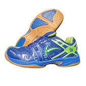 V22 Ultra Badminton Shoes Blue and Green