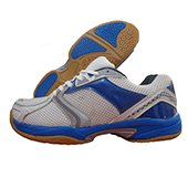 V22 Badminton Court Shoes White and Blue