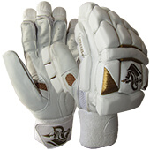 Spartan MSD Limited Edition Cricket Batting Gloves White Gold