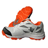 Spartan Extreme Stud Cricket Shoes Orange White