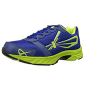 Sparx Running Shoes Royal Blue and Lime