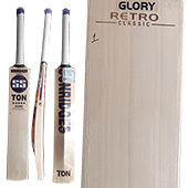 SS Glory Retro Classic English Willow Cricket Bat
