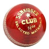 SS Club Cricket Ball 6 Ball Set