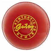 SS Gutsy Synthetic Cricket Ball 3 Ball Set