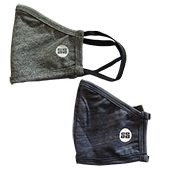 SS FALCON 2.0  Reusable Cloth Mask Grey and Navy Blue