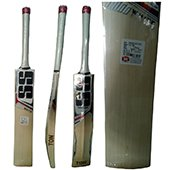 SS White Edition Red English Willow Cricket Bat