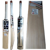 SS White Edition Gold Kashmir Willow Cricket Bat