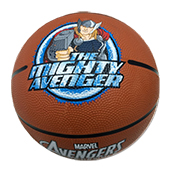 Stag The Mighty Avenger Basketball Brown Size 5
