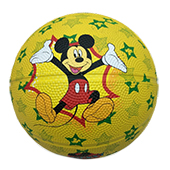 Stag Micky Mouse Basketball Yellow Size 5