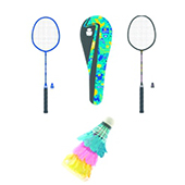 Stag Avenger Badminton Combo Blue and Black