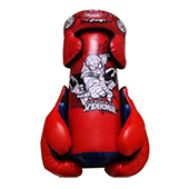 Stag Spiderman Red Boxing Set Size Large