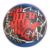 Stag Spider Man Football Black and Blue Size 5