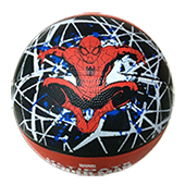 Stag Spider Man Football Black and Brown Size 7
