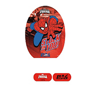 Stag The Spiderman Red Table Tennis Racket and Ball Combo