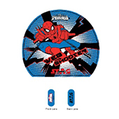 Stag The Spiderman Blue Table Tennis Racket and Ball Combo