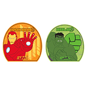 Stag The Ironman and Hulk Table Tennis Racket and Ball Combo