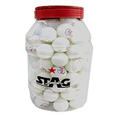 Stag One Star Table Tennis Ball White Set of 96 Balls