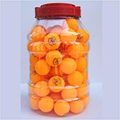 Stag Two Star Table Tennis Ball Orange Set of 96 Balls
