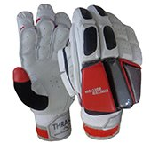 Thrax Limited Edition Batting Gloves White and Red
