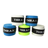 Thrax PU Based Super Foam Badminton Grip Set of 5 Assorted Colour