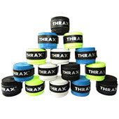 Thrax PU Based Super Foam Breathable Badminton Grip Set of 15 Assorted Colour