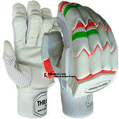 Thrax Reserve Edition Lightweight Batting Gloves White and Orange