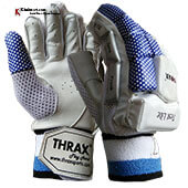 Thrax Test Lite Batting Gloves White and Blue