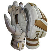 Thrax Gold Edition Cricket Batting Gloves Mens RH