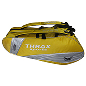 Thrax Neo Badminton Kit Bag Yellow V1
