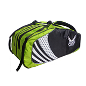 Offer on Thrax Pro series Badminton Kit Bag Green and Black