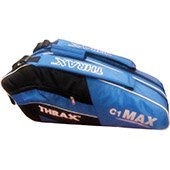 Thrax C1 Max Badminton Kit Bag Black and Blue