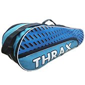 Thrax Streak Badminton Kit Bag Sky blue and Navy