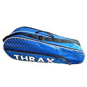 Thrax Streak Badminton Kit Bag Navy Blue