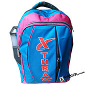 THRAX POLO 1 Casual Backpack Blue and Pink