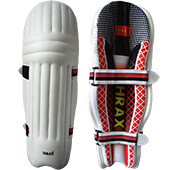 Thrax Ultra Lite Molded Batting Pads Red Black