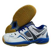 Thrax All Court Badminton Shoe White Blue