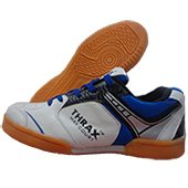 THRAX Max Court Table Tennis Shoes White and Blue