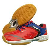 Thrax C1 Max Badminton Shoes Red and Blue