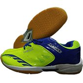 Thrax C1 Max Blue and Lime Badminton Shoes