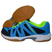 Thrax Aura 101 Badminton Shoes Navy Lime