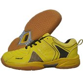 Thrax N Power Badminton Shoe Yellow and Black