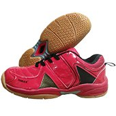 Thrax N Power Badminton Shoe Red