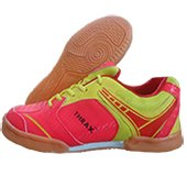 THRAX Max Court  Table Tennis Shoes Red and Yellow