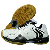Thrax N Power Neo Badminton Shoe White and Black