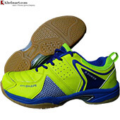 Thrax N Power Neo Badminton Shoe Lime and Blue