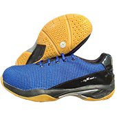 Thrax Fly K Next Badminton Shoe Blue and Black