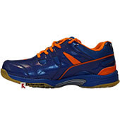 Thrax Furious Badminton Shoe Blue and Orange